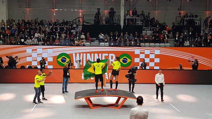 Brazil were the victors, however ©Macesport
