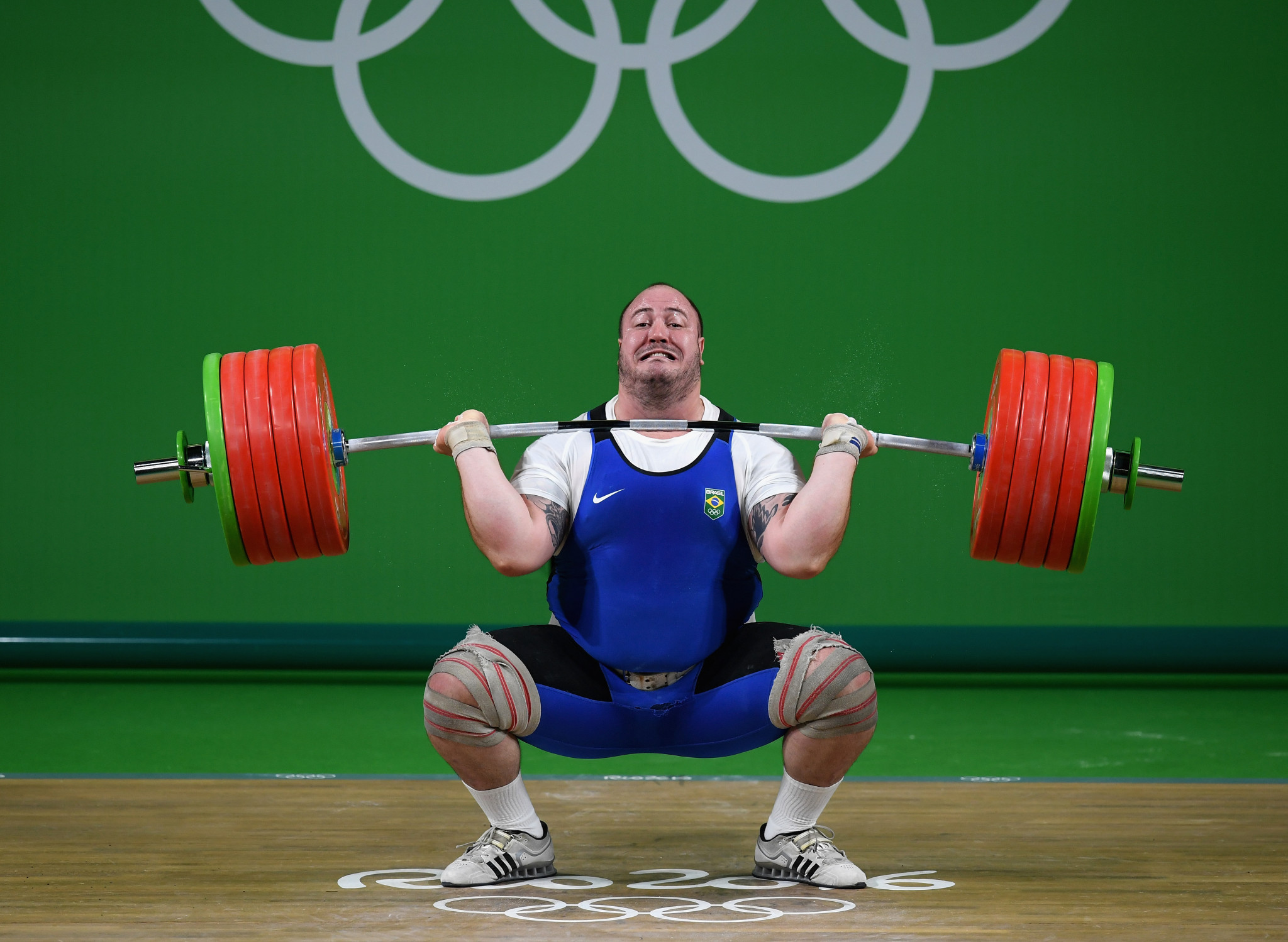 Brazilian fired up for landmark Olympic weightlifting medal as rivals hit by drugs crackdown