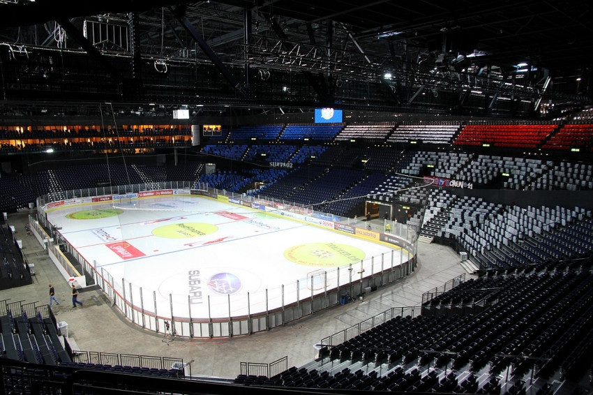 Two quarter-finals, the semis and final of the 2020 IIHF Ice Hockey World Championships will take place at Hallenstadion Zurich ©Hallenstadion Zurich