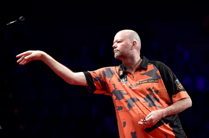 Raymond Van Barneveld, five times a world darts champion, will make a farewell appearance at the PDC World Championships that start at Alexandra Palace in London on Friday ©Getty Images