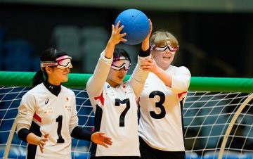 Japan's women's team remain on course to defend their title ©Japan Goalball Association