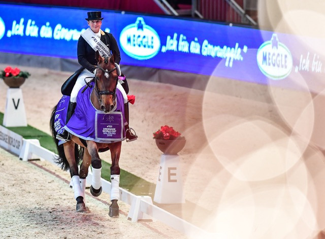 Werth continues pursuit of record fourth FEI Dressage World Cup title with victory in Salzburg