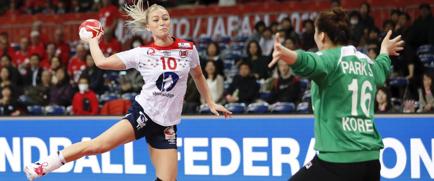 Norway eliminate South Korea from IHF Women's Handball World Championship