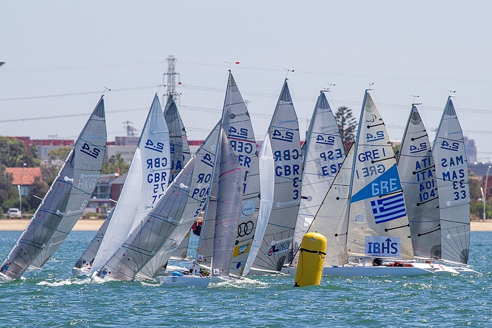 Home favourites on course for SKUD18 title at Para World Sailing Championships