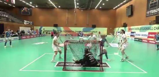 Finland thrash Germany at Women's World Floorball Championships