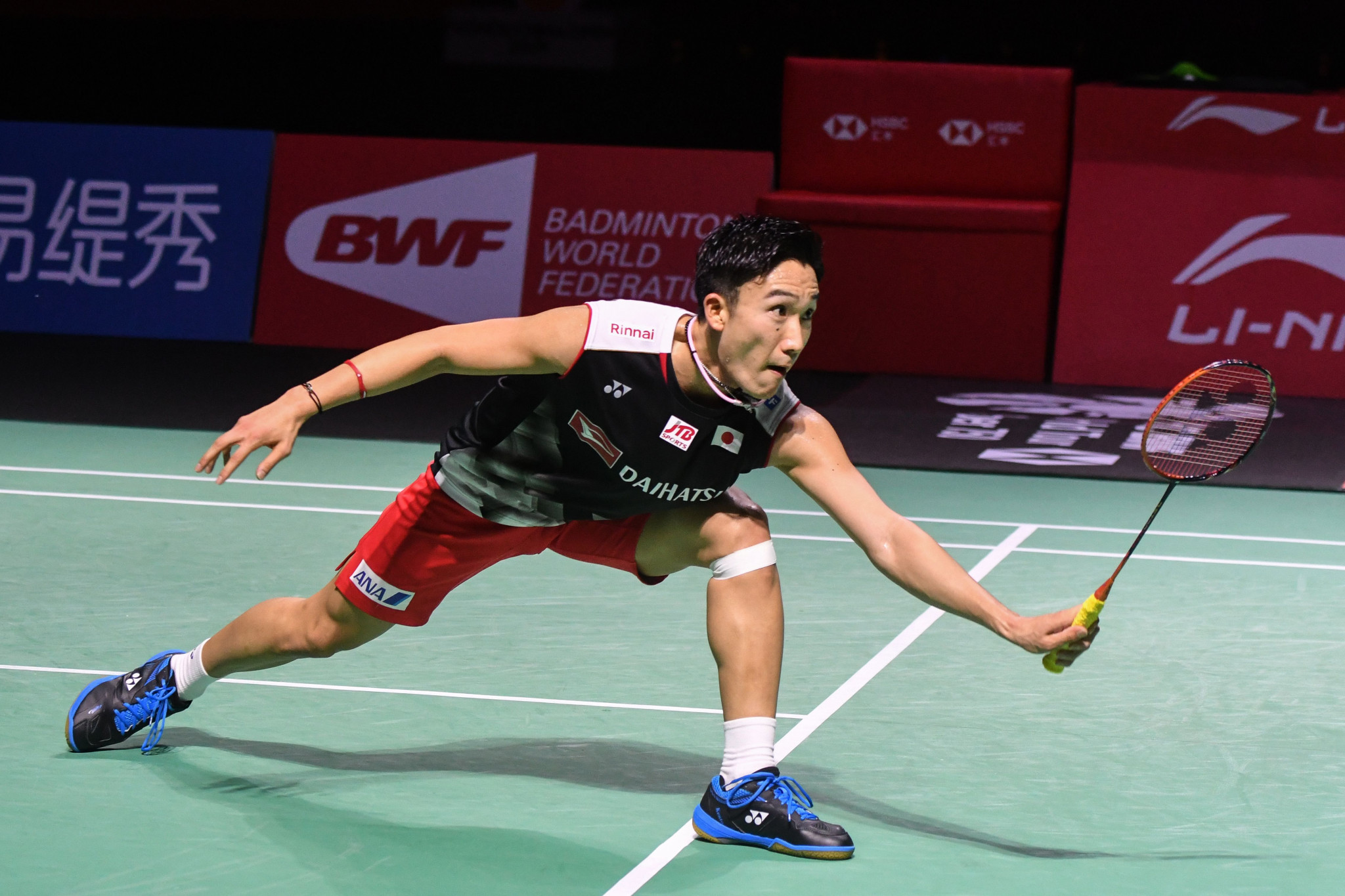 Kento Momota, Japan's world number one, has a point to prove at the BWF World Tour Finals in Guangzhou ©Getty Images