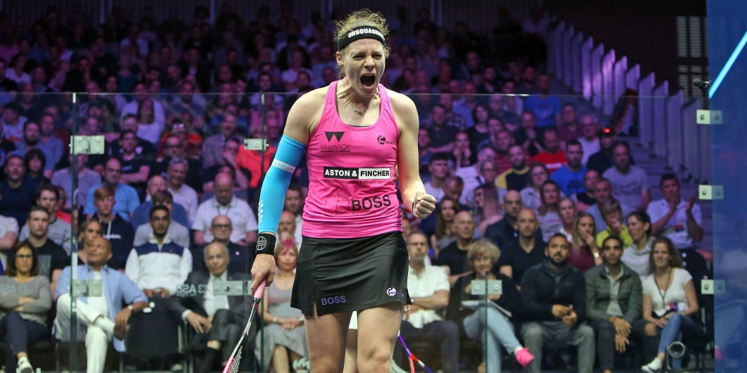 Perry becomes Professional Squash Association Women's President