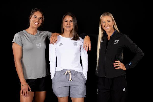 Grey, black and white are the major colours ©NZ Olympics