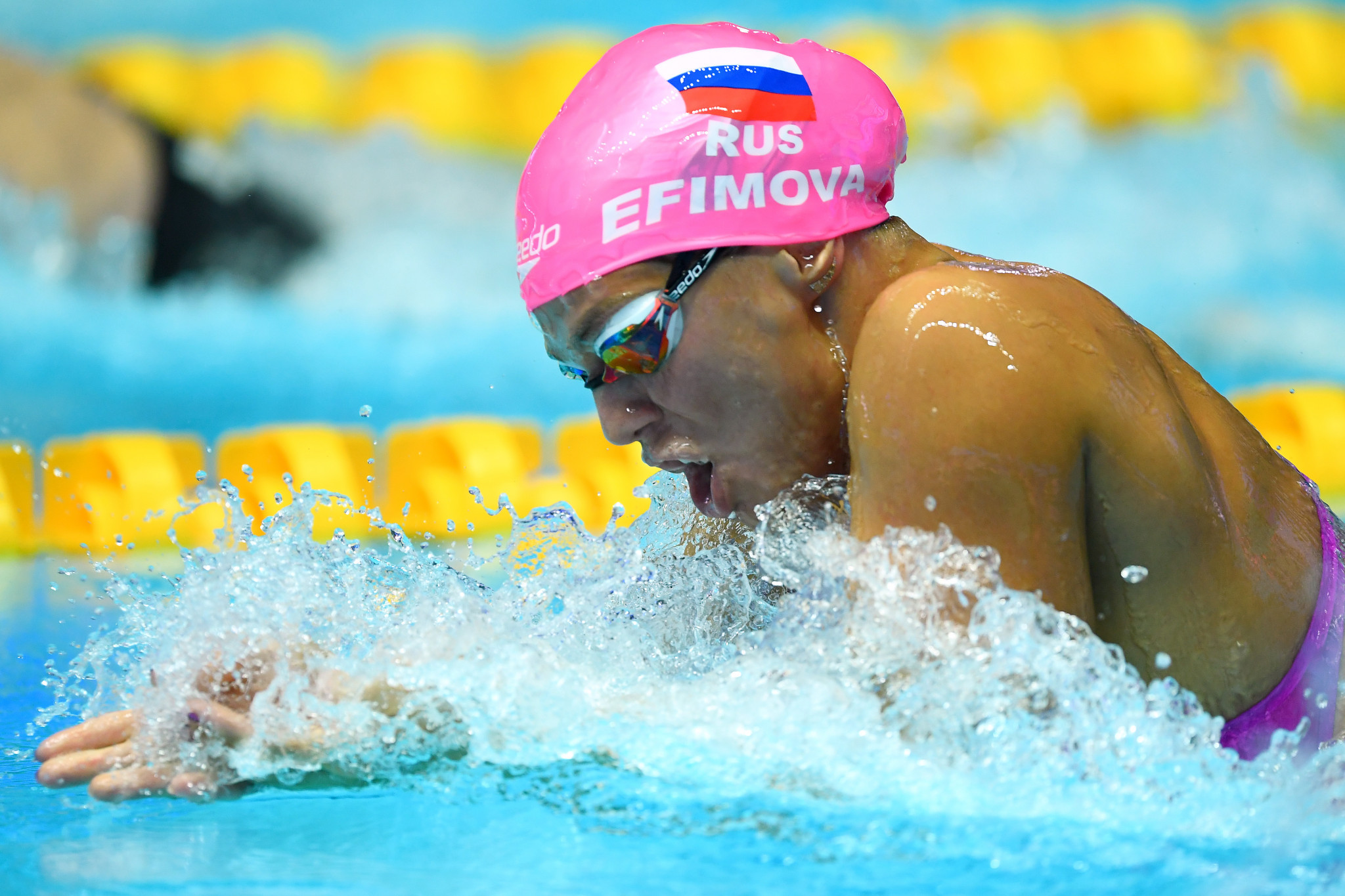 Russia's multiple world champion Yuliya Efimova is banned from the ISL because she has served a drugs ban