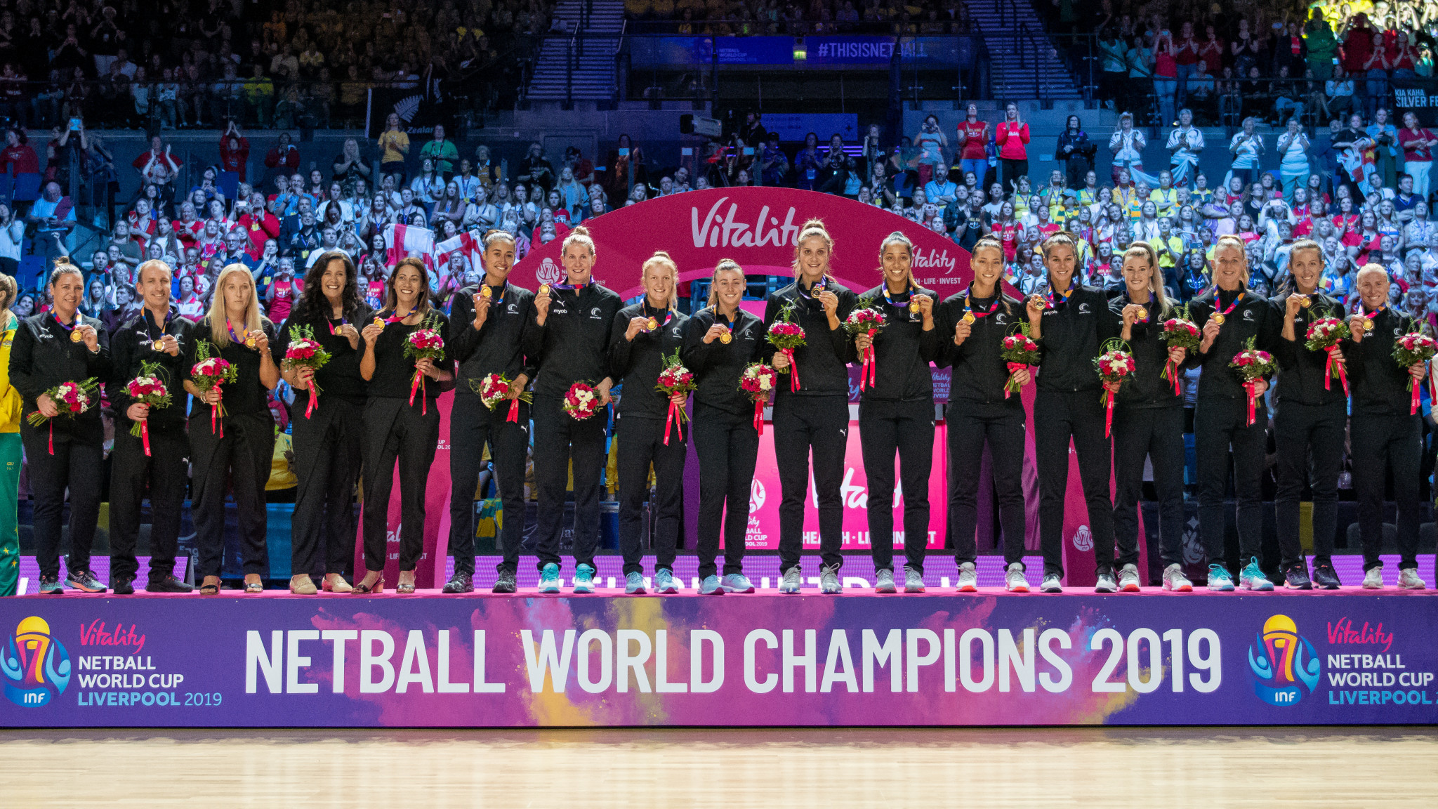 Lindsay Impett was event director at the 2019 Netball World Cup in Liverpool - an event hailed as a huge success ©Getty Images