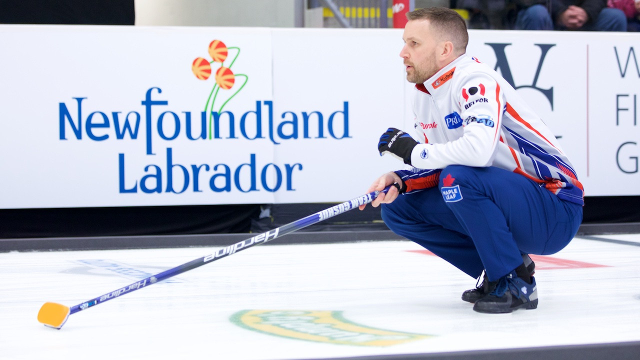 Local hero Gushue makes winning start to GSOC Boost National curling event
