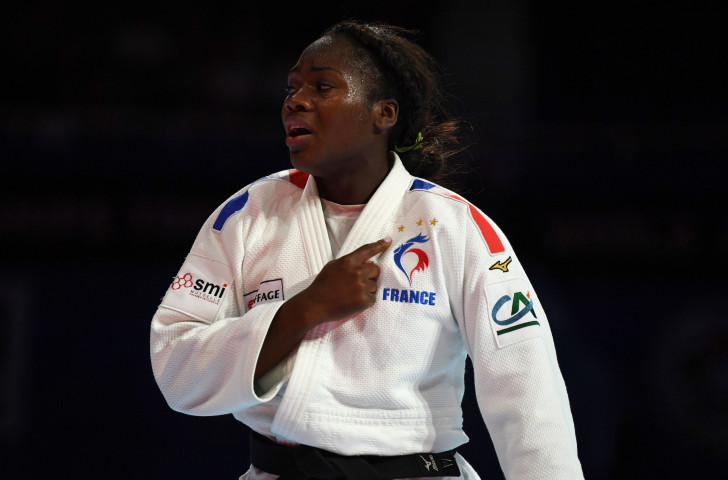Clarisse Agbegnenou, France's world champion in the under-63kg class, will be a formidable force ©Getty Images