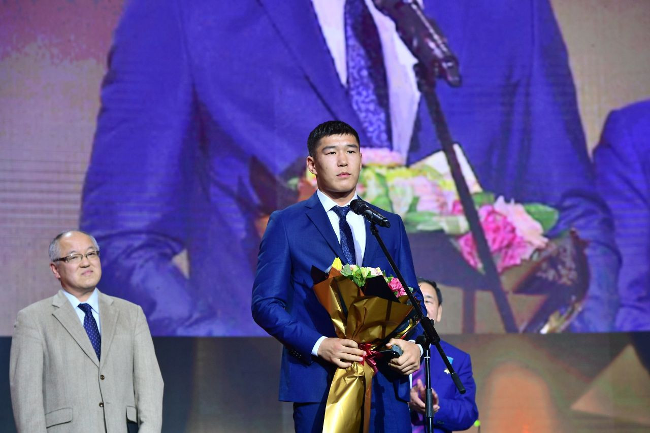 Bekzad Nurdauletov was named the best summer athlete of the year by the Kazakhstan National Olympic Committee ©Kazakhstan NOC