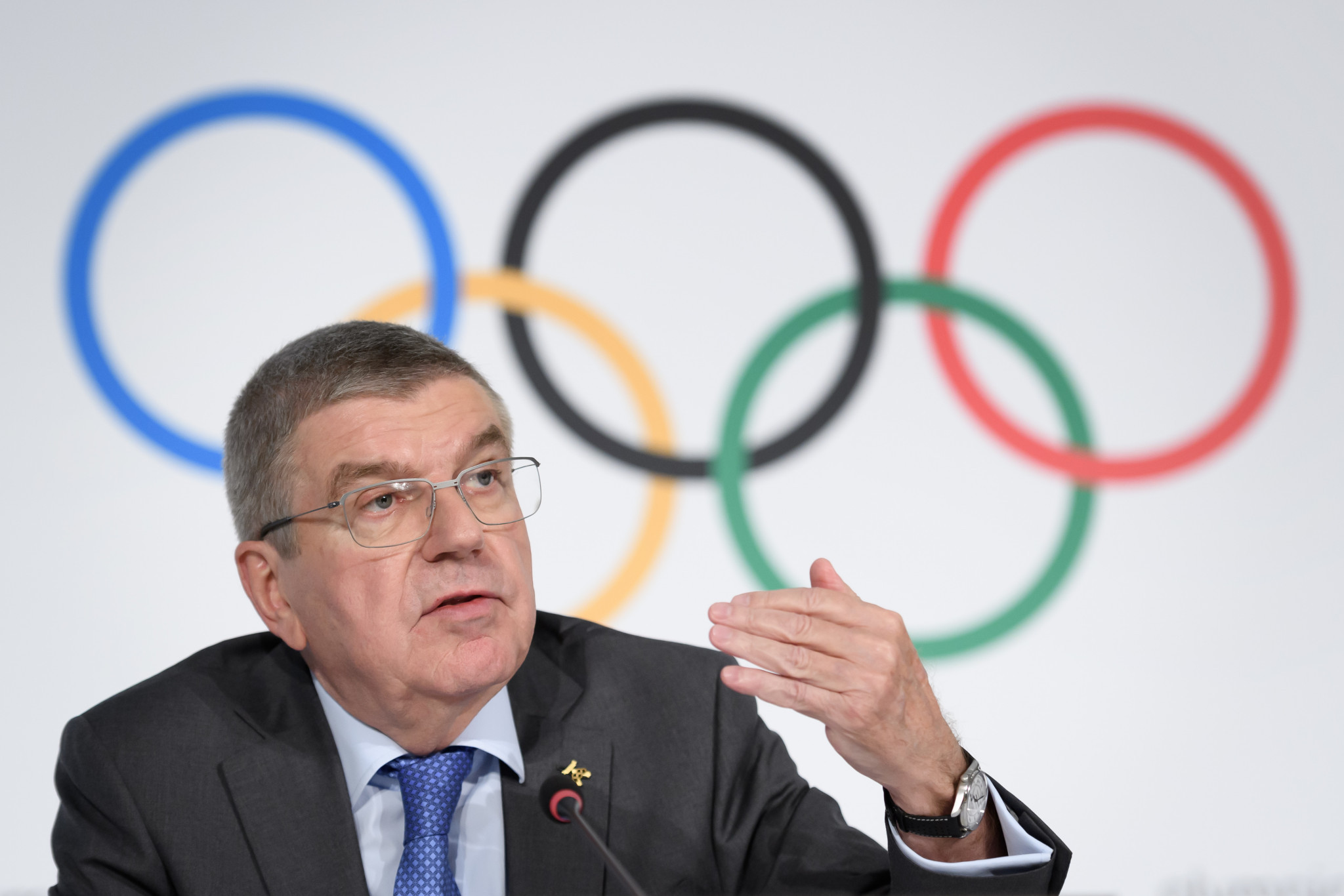 IOC President Thomas Bach claimed earlier this year that guidelines would differ across the NOCs ©Getty Images