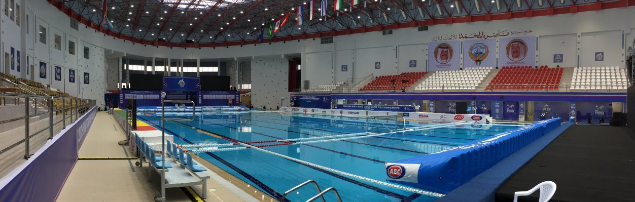 The new Al-Nasar Sport Club in Kuwait City is ready to host the FINA World Junior Men's Water Polo Championships which start tomorrow ©FINA