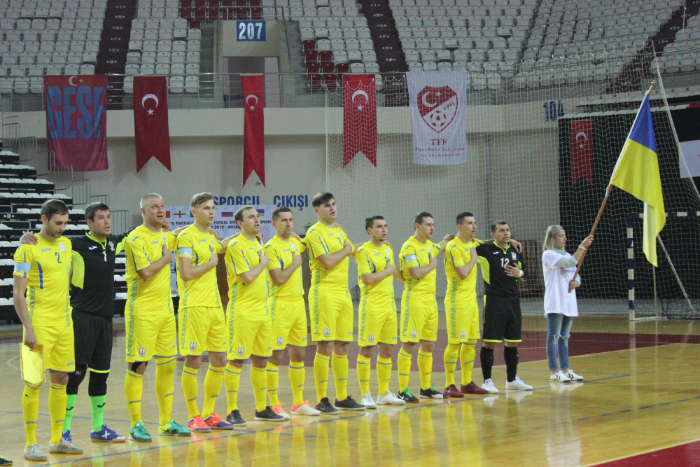Ukraine continue unbeaten run at IBSA Partially Sighted Football World Championship