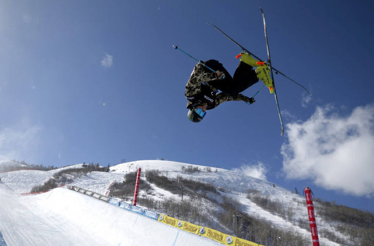 David Wise, the double Olympic champion, will make his FIS Freeski Halfpipe World Cup comeback ©Getty Images