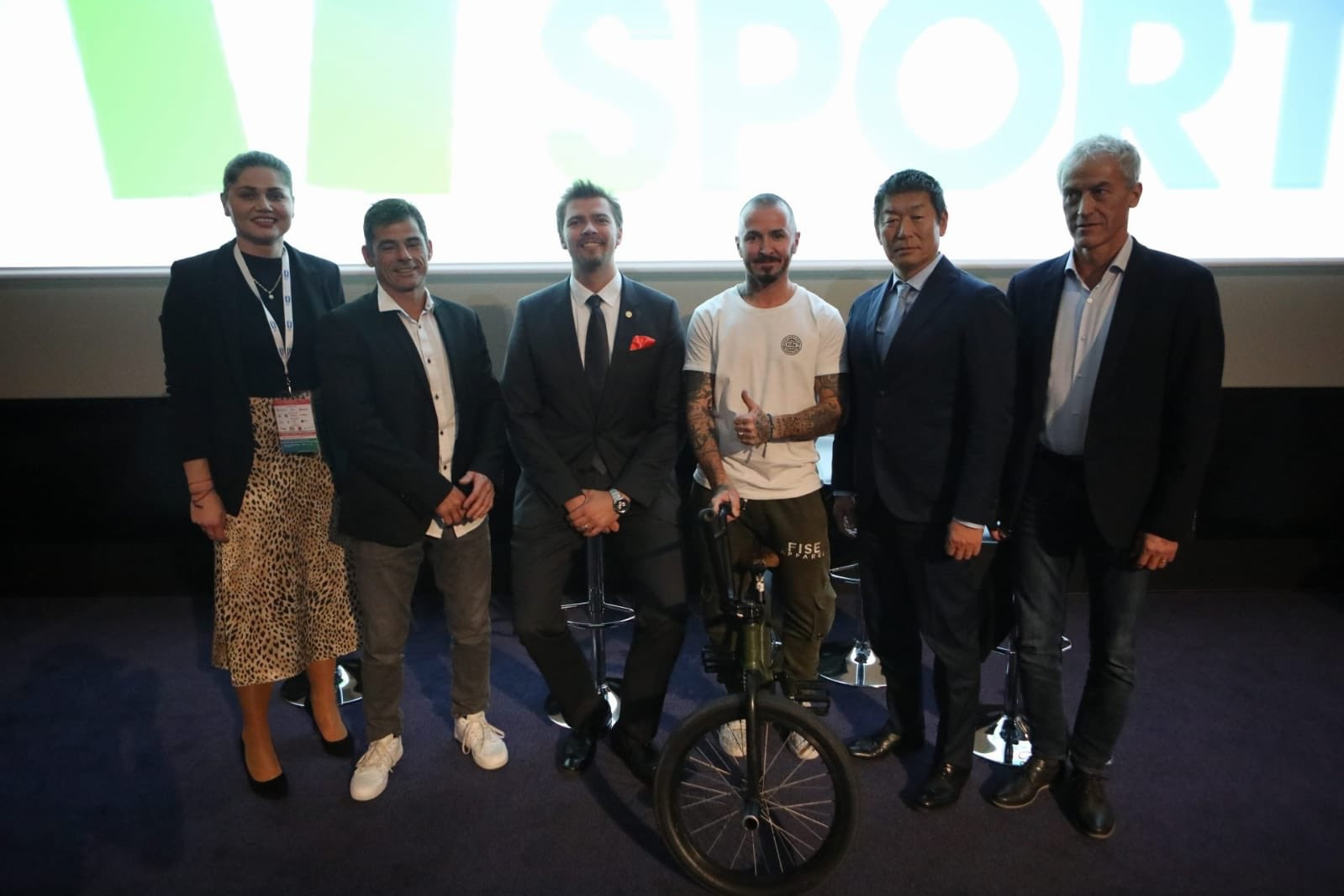 A number of debates took place thoughout the day, including one on urban sports ©Peace and Sport