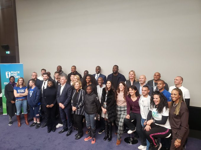 The Peace and Sport Champions for Peace congregated for the start of the three day event ©Peace and Sport