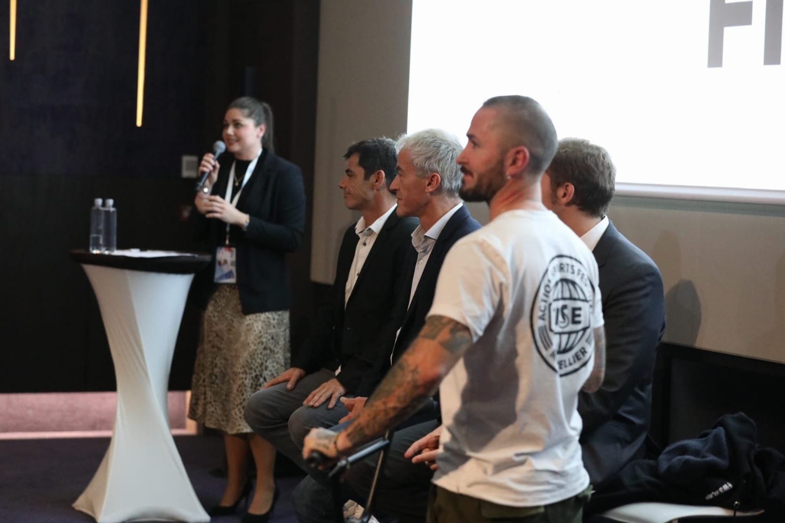 The rise of urban sports and how they can be used to increase peace was discussed ©Peace and Sport