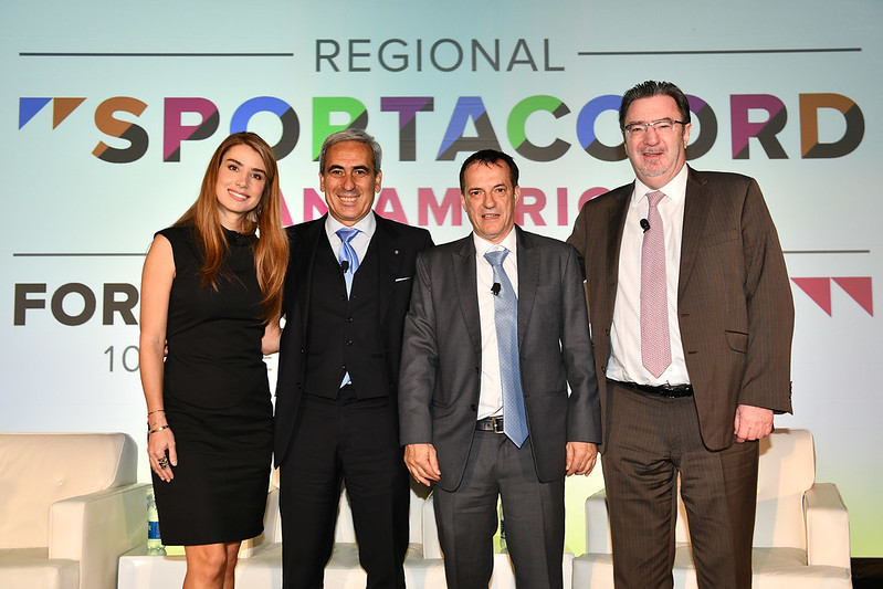 The first Regional SportAccord Pan America began today ©SportAccord