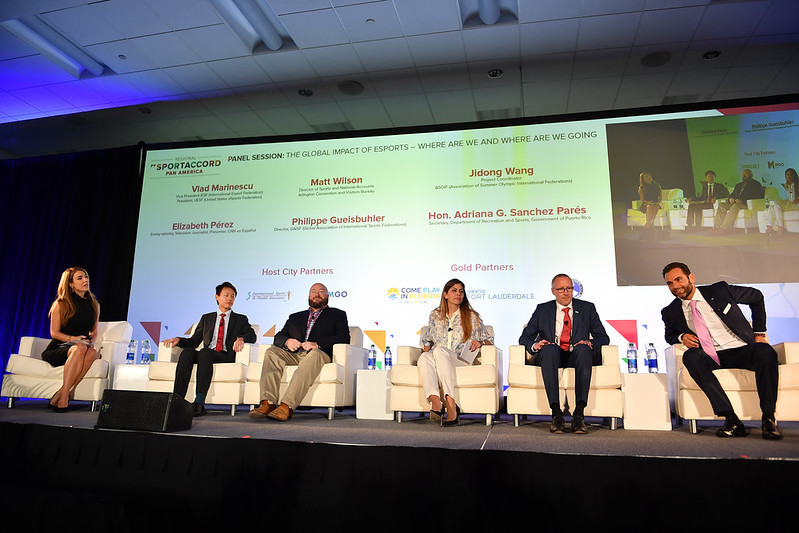 A panel discussion examined the development of esports ©SportAccord