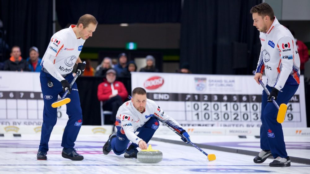 Gushue and Paterson go 2-0 up in GSOC Boost National event