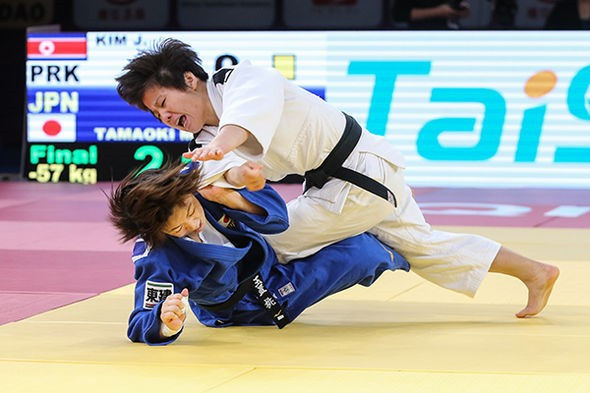 Kim claims historic gold for North Korea at IJF World Judo Masters