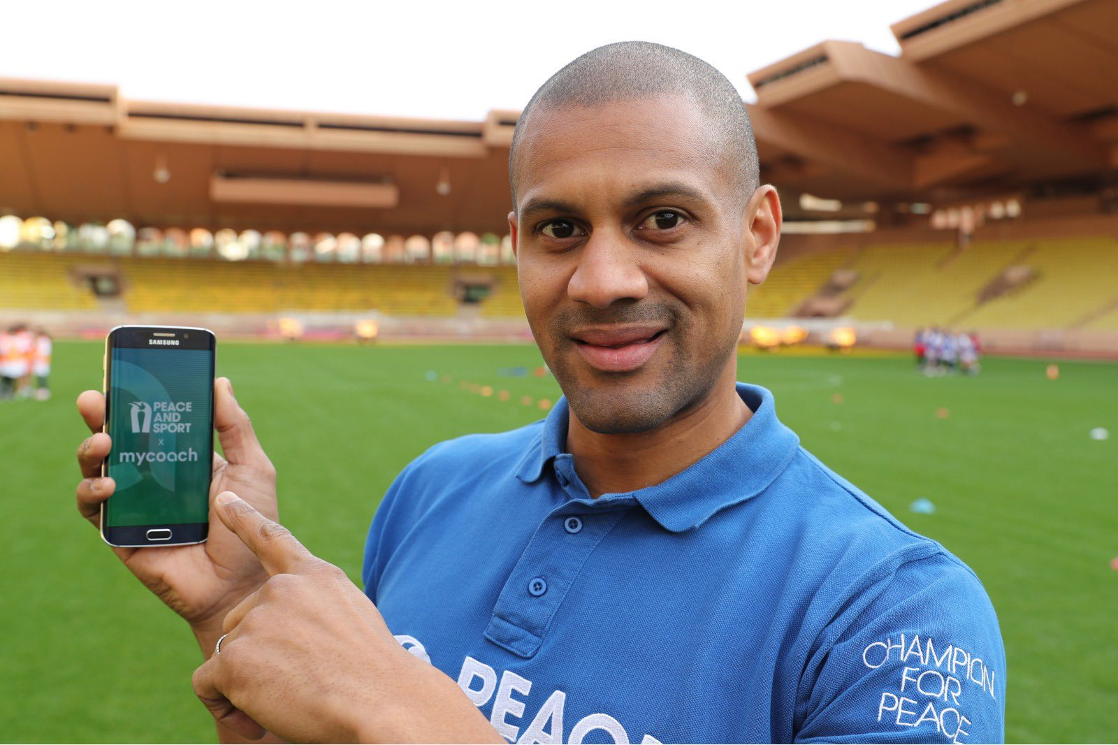 Peace and Sport launch app with My Coach