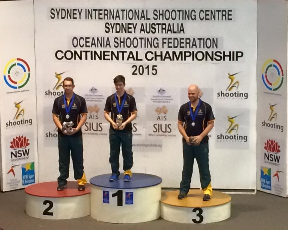Teenager Rossiter leads Australian medal charge at Oceania Shooting Championships