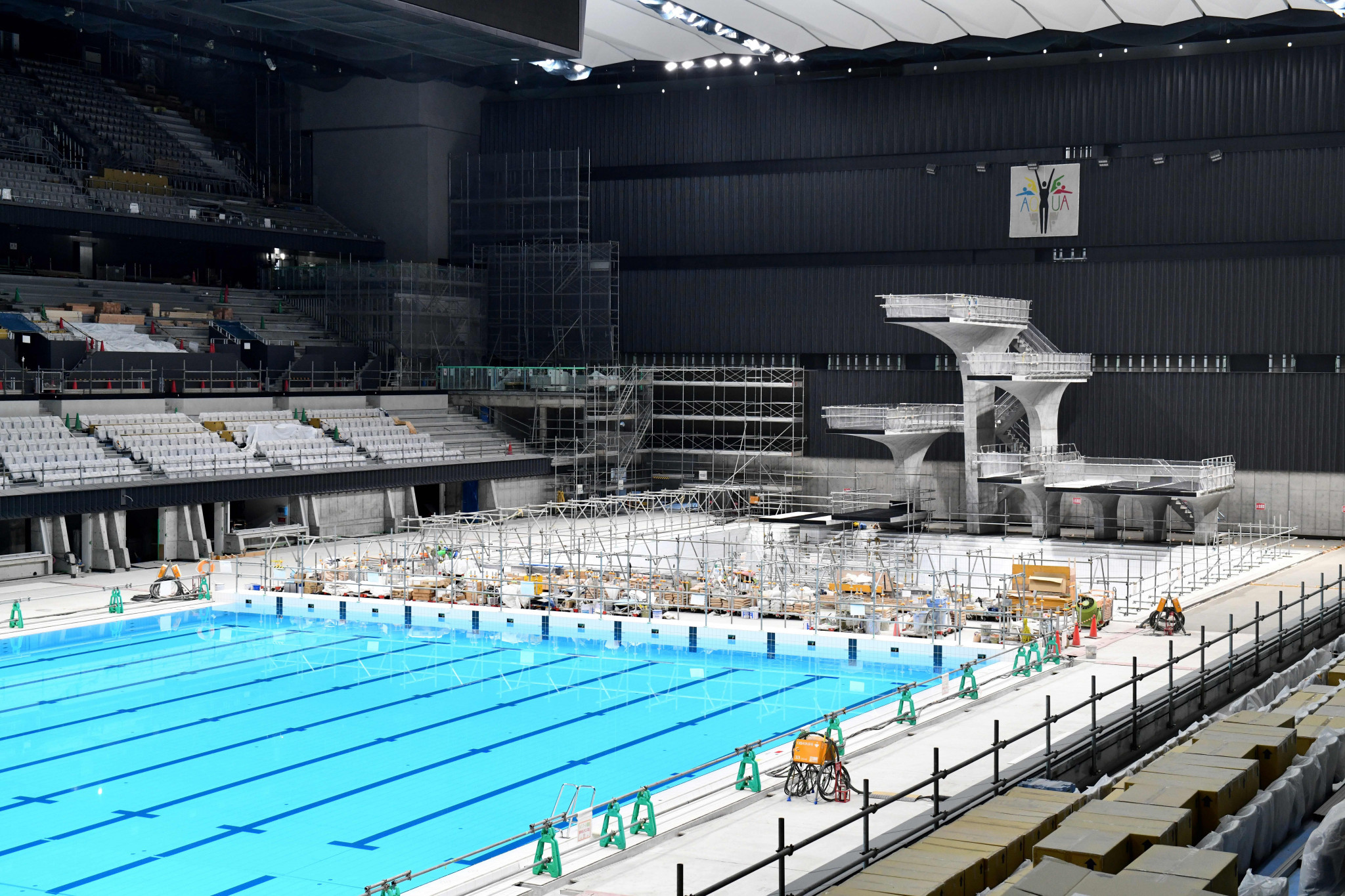 FINA praised preparations for the aquatics events at Tokyo 2020 ©Getty Images