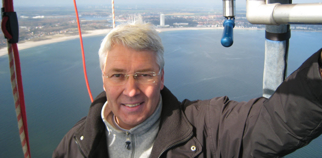 Markus Haggeney is closely associated with ballooning ©FAI