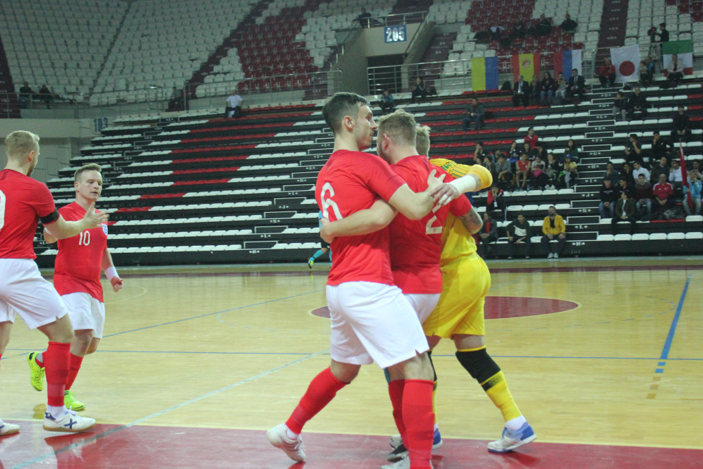 England thrashed the hosts at the IBSA Partially Sighted Football World Championship ©Futsal Turkey
