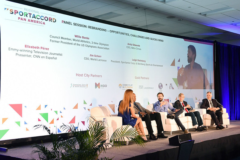 Rebranding was among the central topics of the panel sessions ©SportAccord