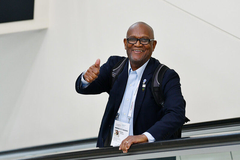 Delegates were in good spirits at the Convention ©SportAccord