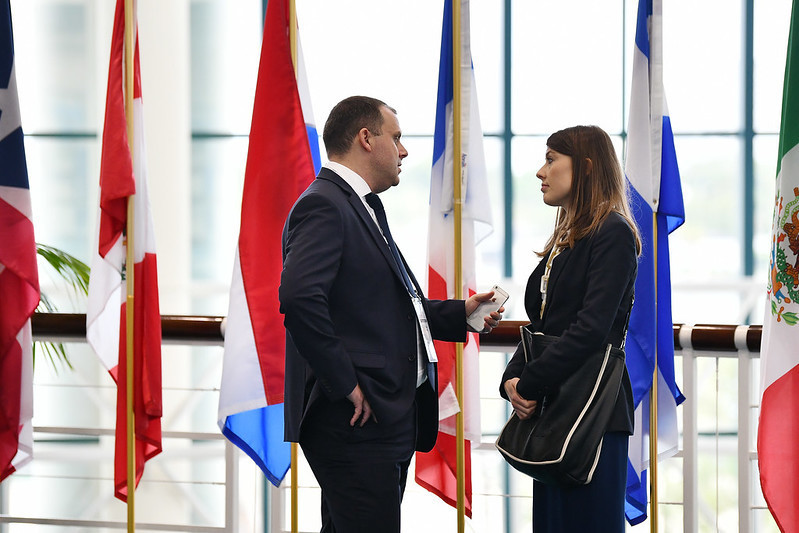 Serious meetings also took place during the convention ©SportAccord