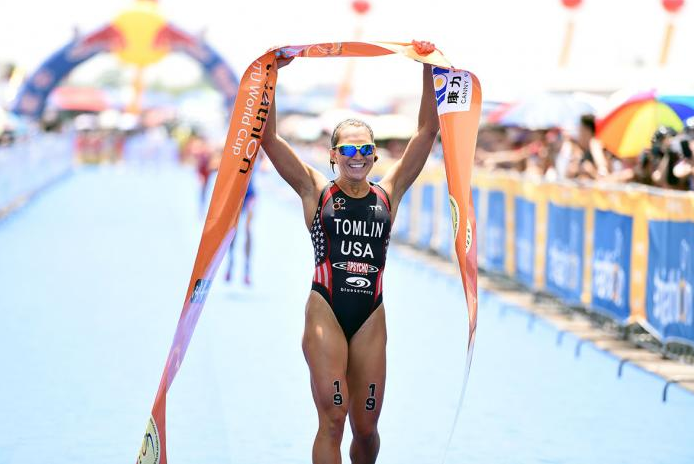 Tomlin claims maiden triathlon win at Chengdu World Cup