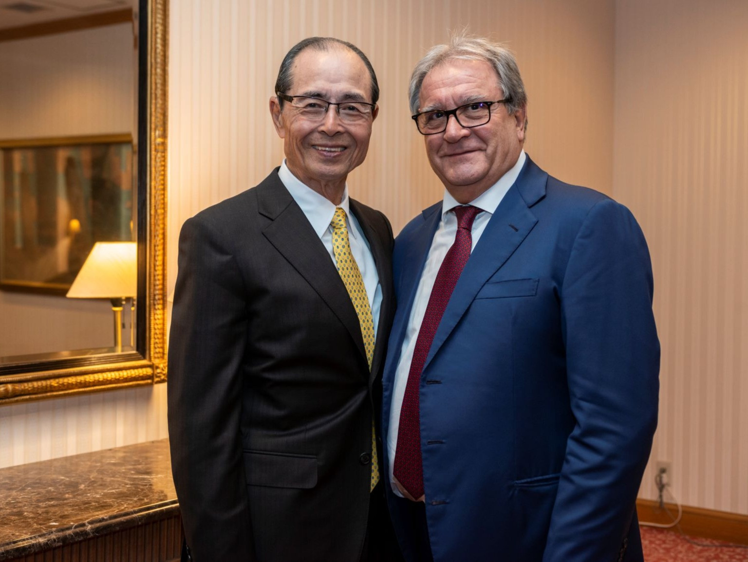 "Home run king Sadaharu Oh looking forward to ""momentous year"" of baseball"