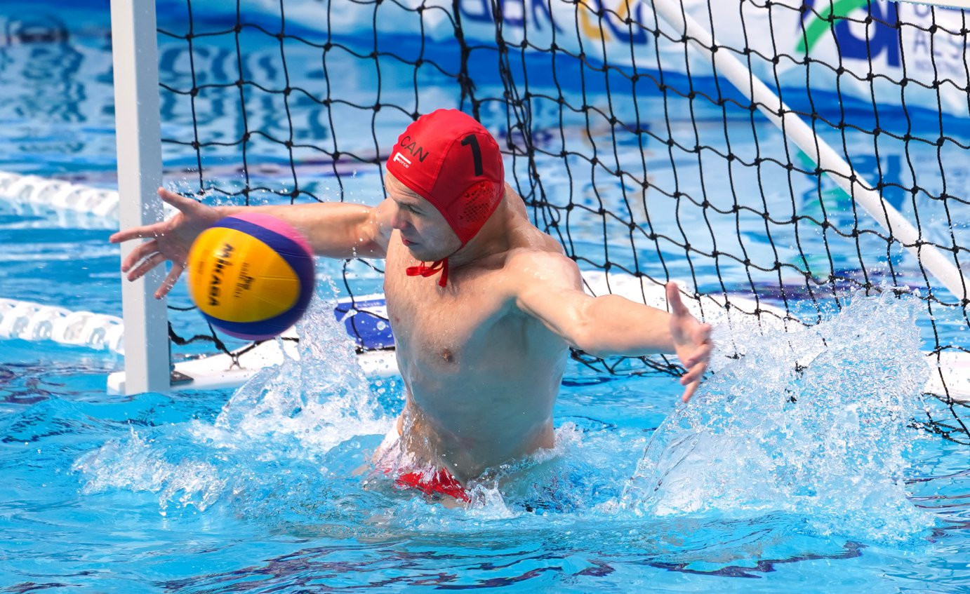 Canada and Spain continue perfect starts at FINA World Men's Junior Water Polo Championships