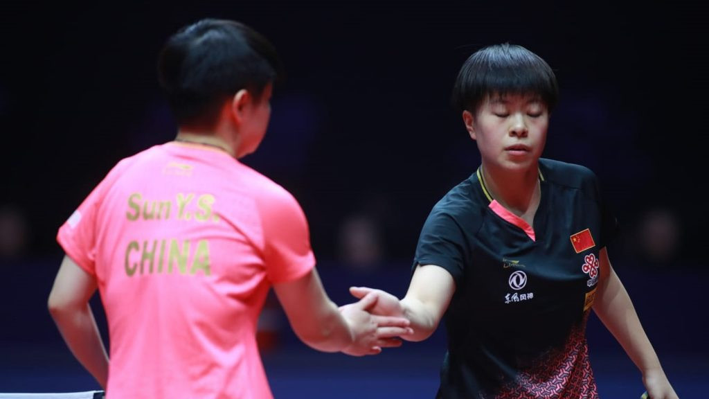 Top seed Sun knocked out of ITTF World Tour Grand Finals