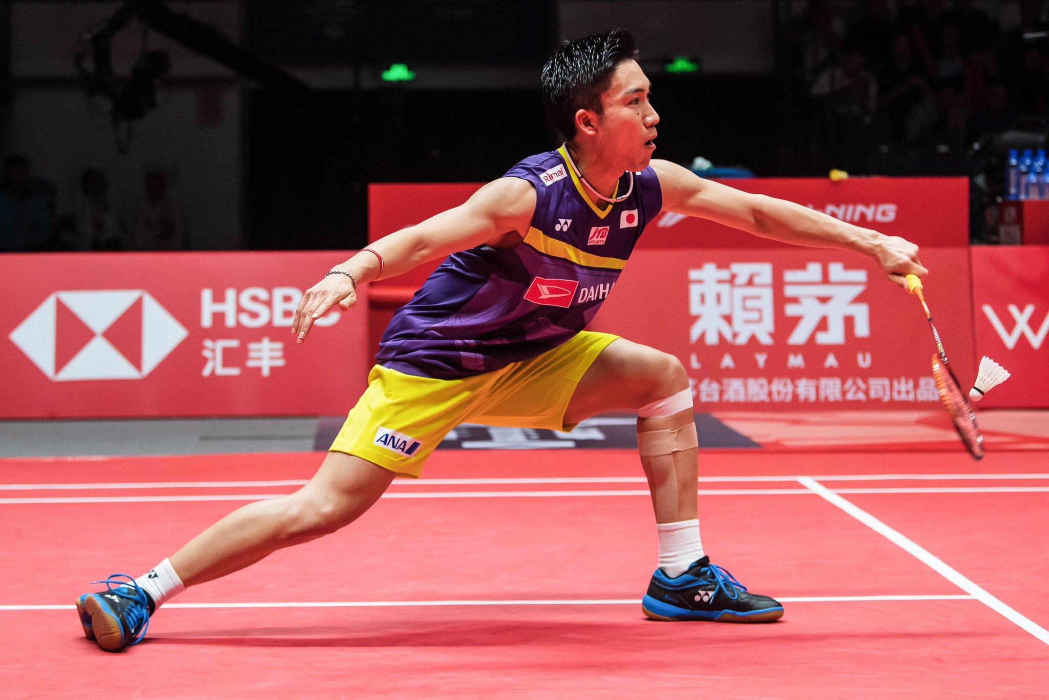 Momota and Tai reach last four at BWF World Tour Finals