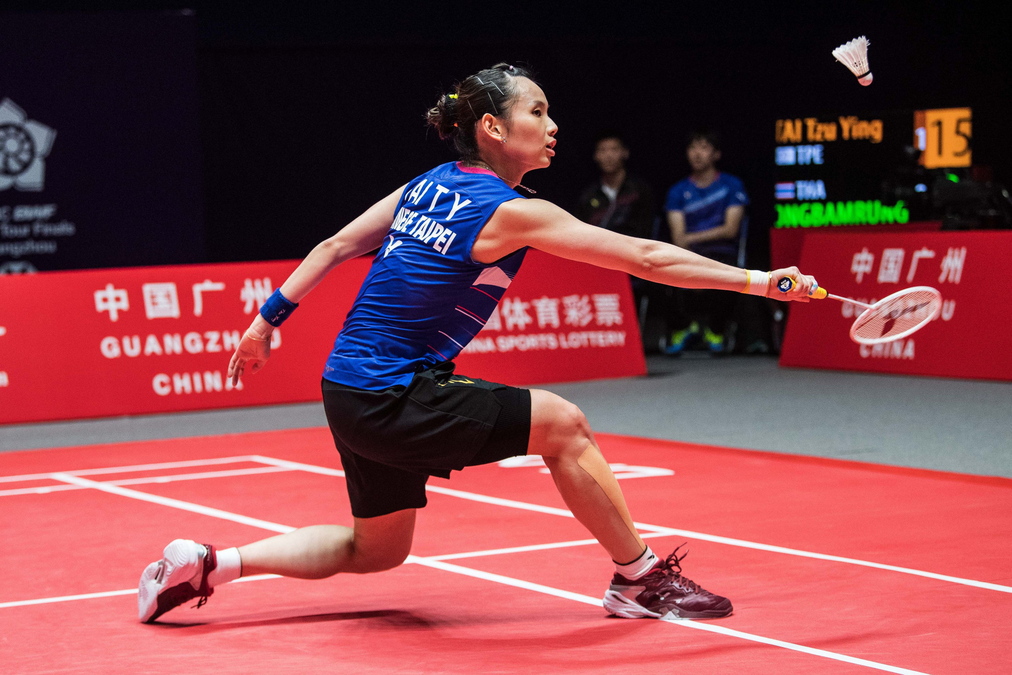 Women's world number one Tai Tzu Ying is also through to the semi-finals ©Getty Images