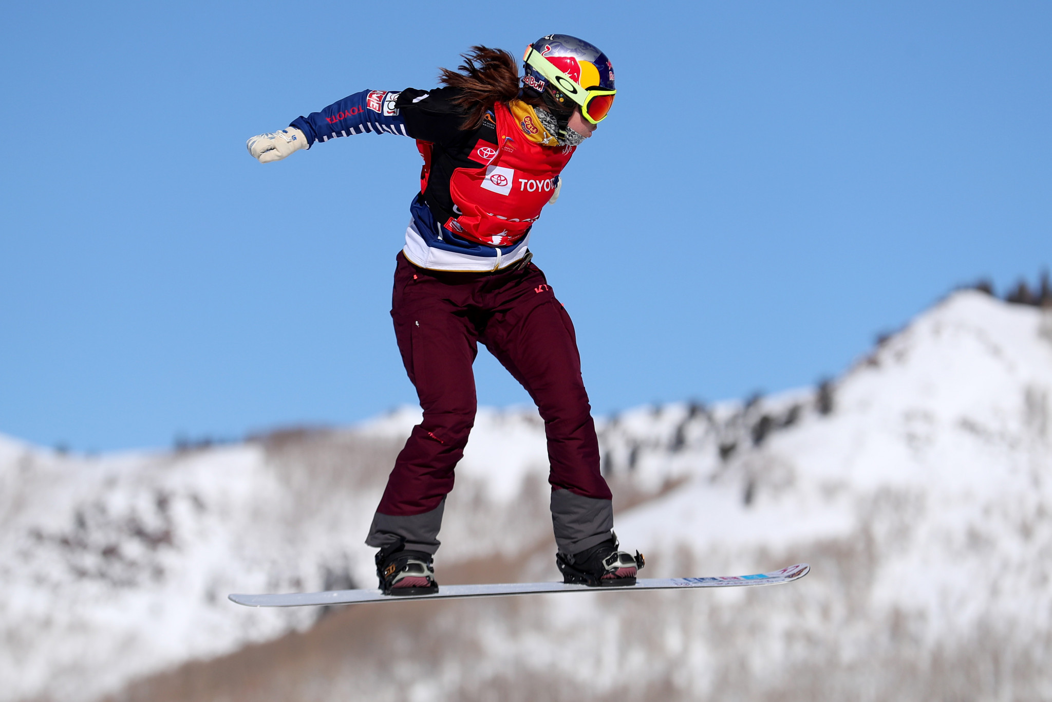 The Czech Republic's Eva Samkova, defending overall Snowboard Cross World Cup champion, won at Montafon in Austria in the opening event of this season's series ©Getty Images