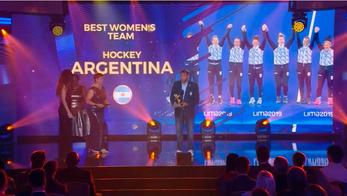 Argentina won the best men's and women's team prizes ©Twitter/COP_Peru