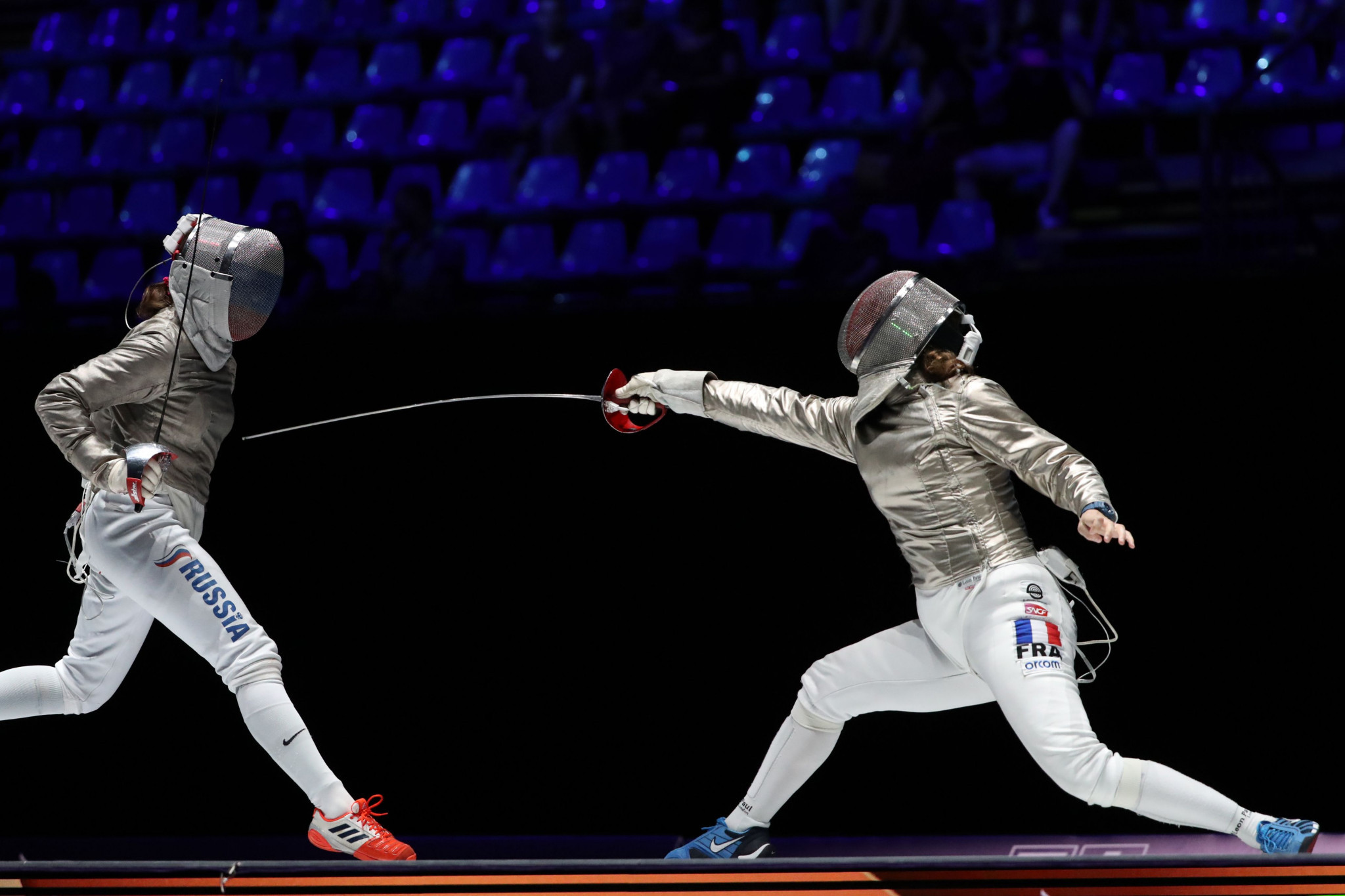 Singleton-Comfort to face top seed Velikaya in last 64 at FIE Women's Sabre World Cup