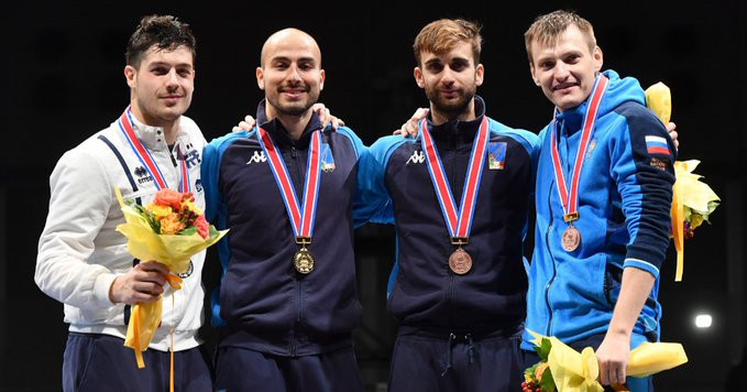 Foconi wins individual title at FIE Men's Foil World Cup