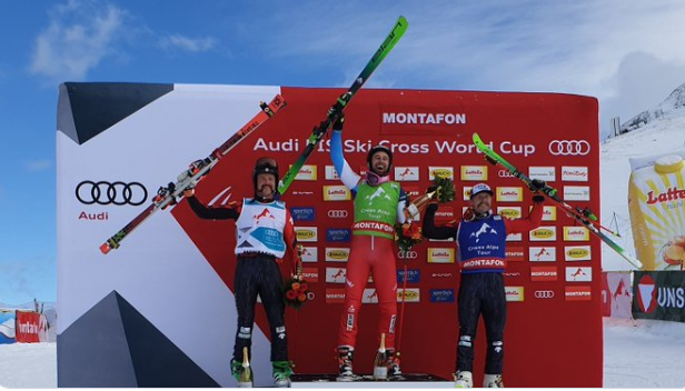 Regez breaks ski cross golden duck at FIS Freestyle Ski World Cup