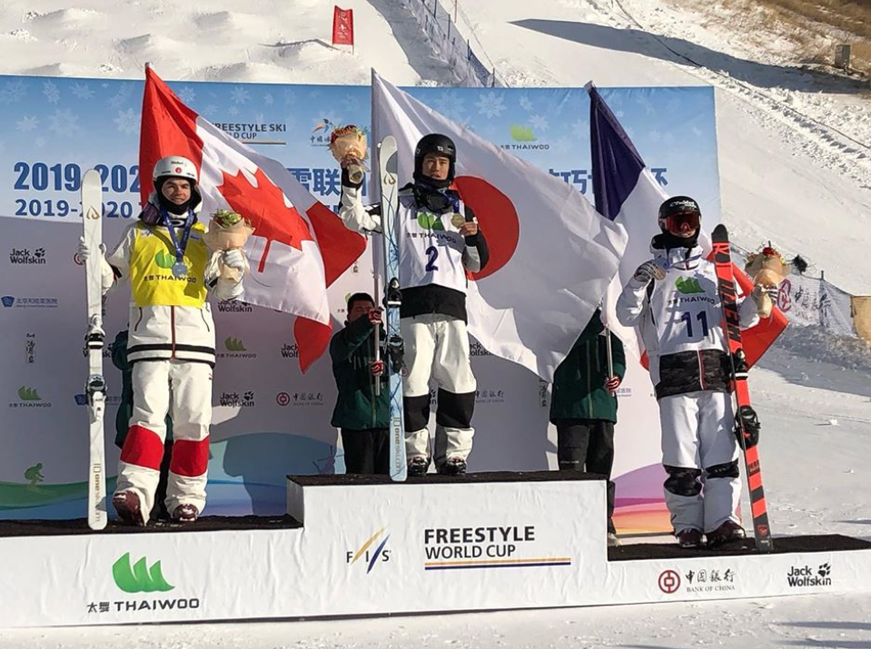 Roles reversed as Horishima pips Kingsbury at FIS Freestyle Skiing Moguls World Cup