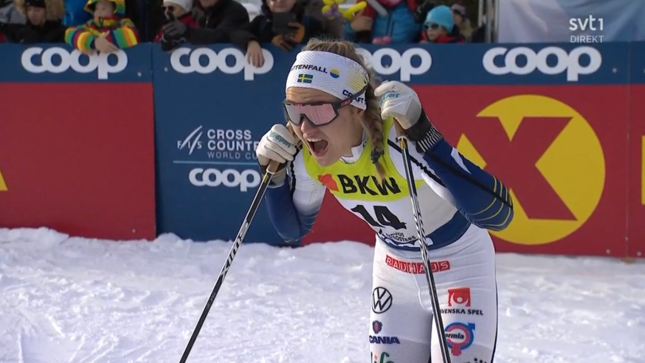 Sweden's Linn Svahn will be one of many cross-country stars missing from the World Cup event in Davos ©Getty Images