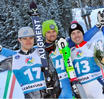 Pierbon and Yakovishina win again at Winter Deaflympics